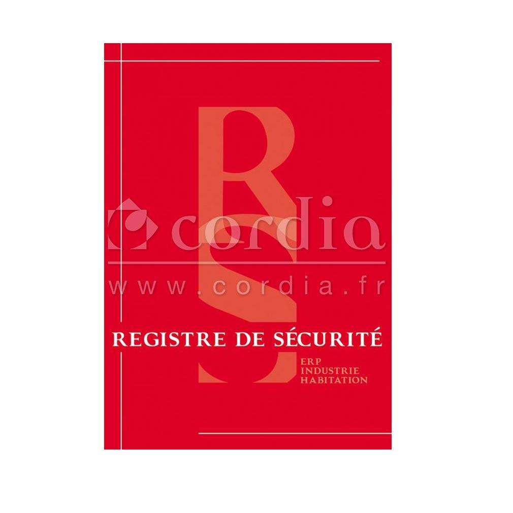 Cordia - KDAIRSI0080 - REGISTRE DE SECURITE INCENDIE 80 PAGES