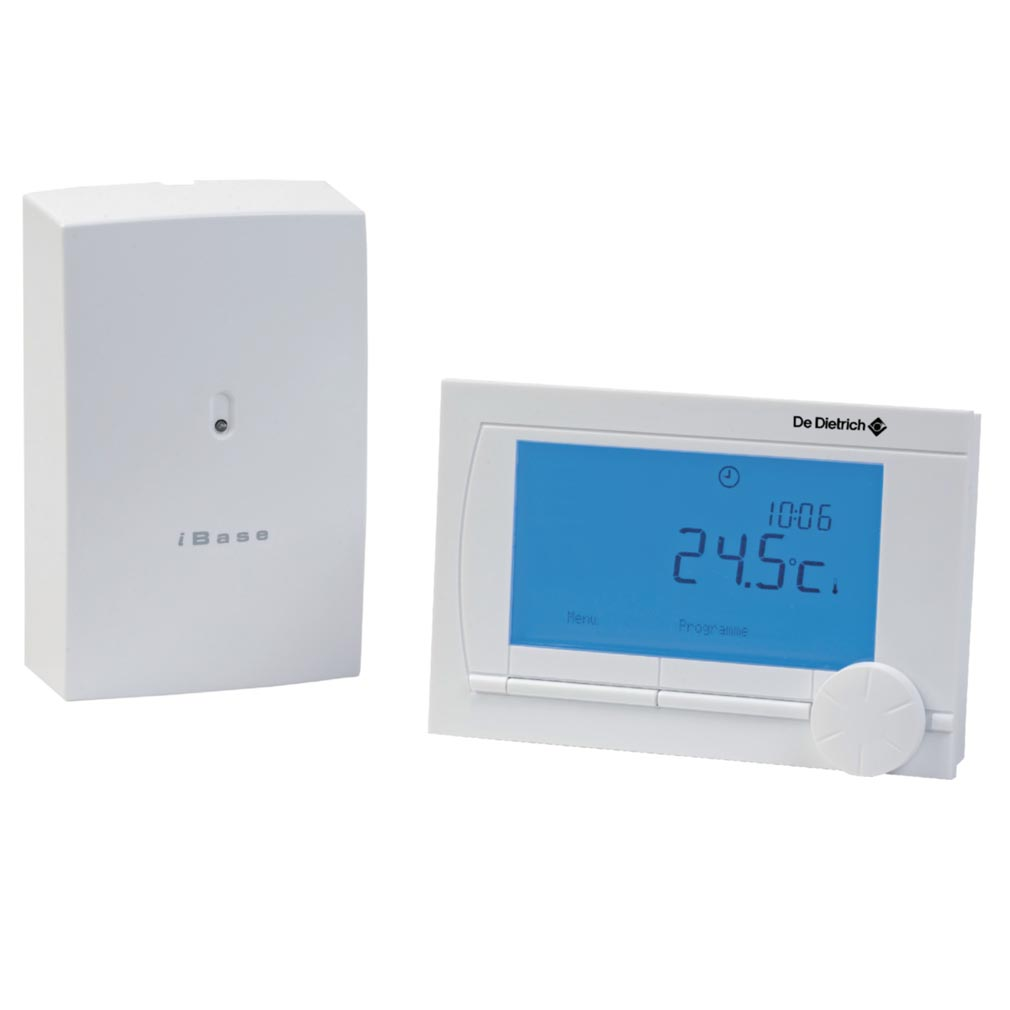 De dietri - DDQ7609762 - THERMOSTAT D'AMBIANCE PROGRAMMABLE RADIO MODULANT OPENTHERM