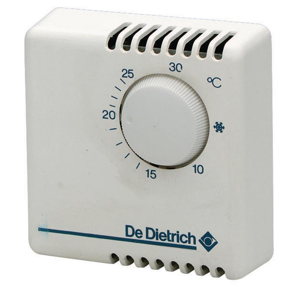 De dietri - DDQ88017018 - Thermostat d'ambiance programmable sans fil