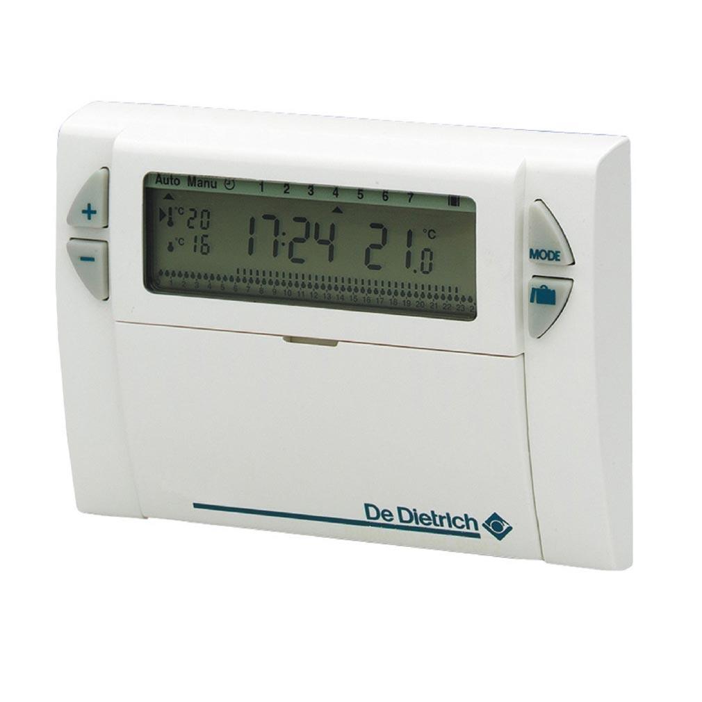 De dietri - DDQ88017855 - Thermostat d'ambiance programmable filaire