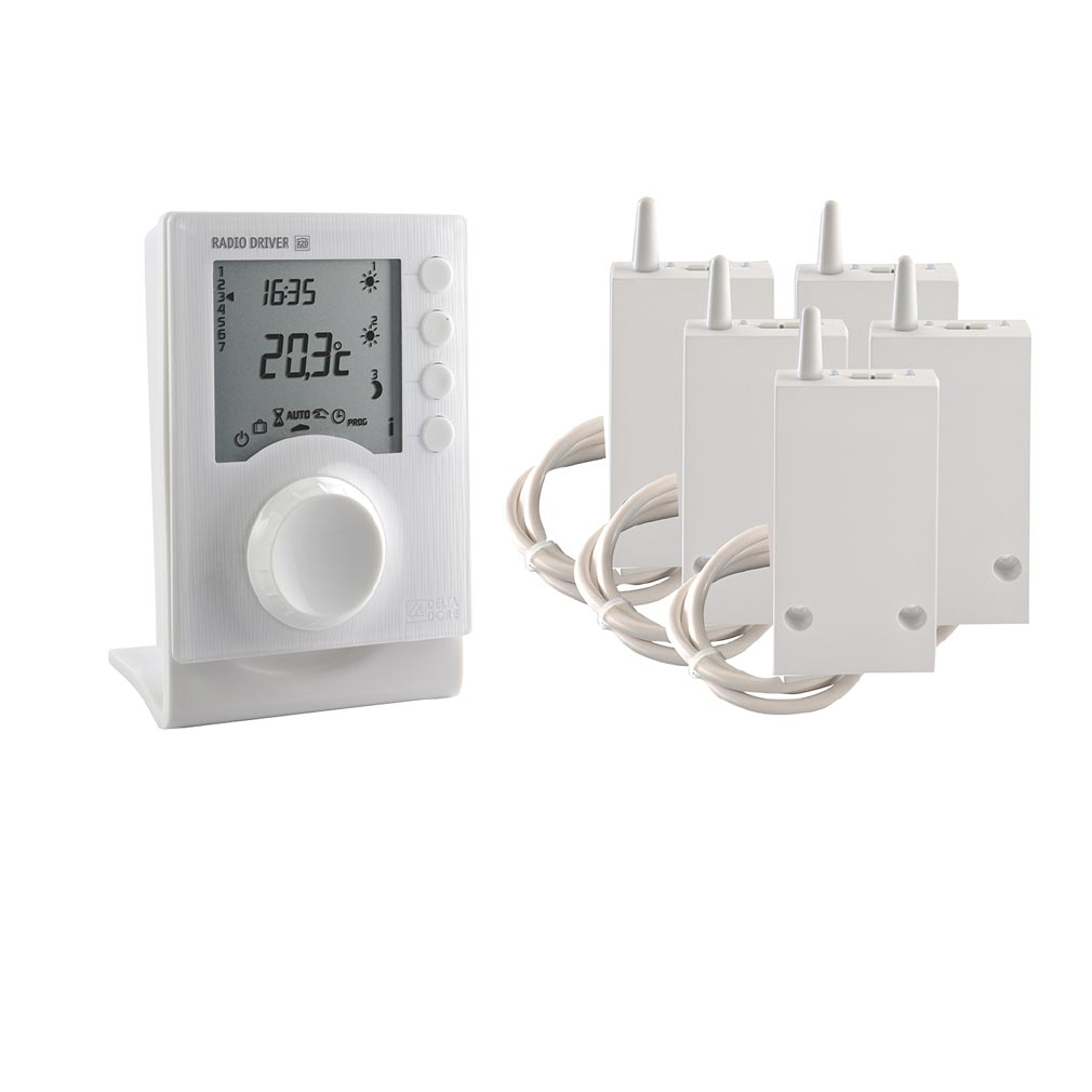 Delta dor - DDO6051148 - DELTA DORE 6051148 - Programmateur électrique de 1 à 3 zones pour chauffage électrique