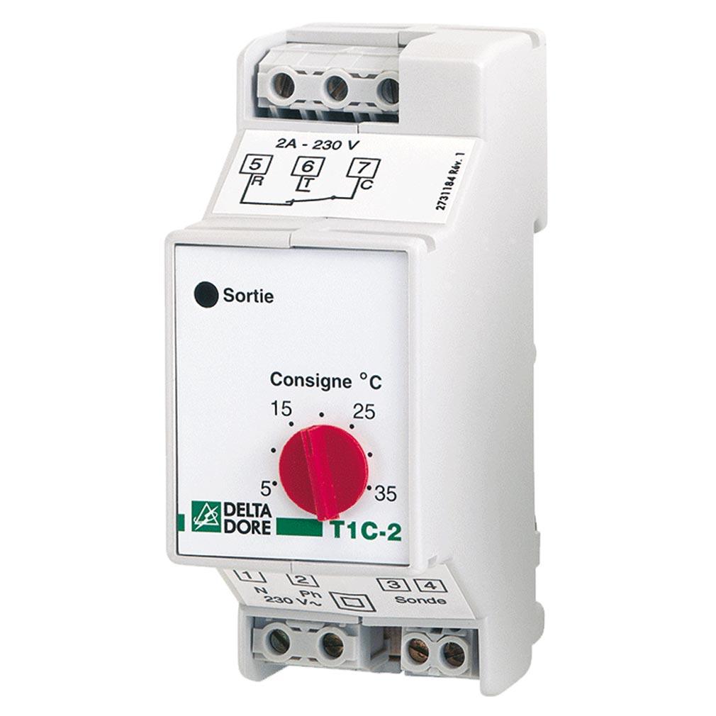 Delta dor - DDO6150019 - DELTA DORE T1C-25/35 -  6150019 - Thermostat modulaire multi-usages
