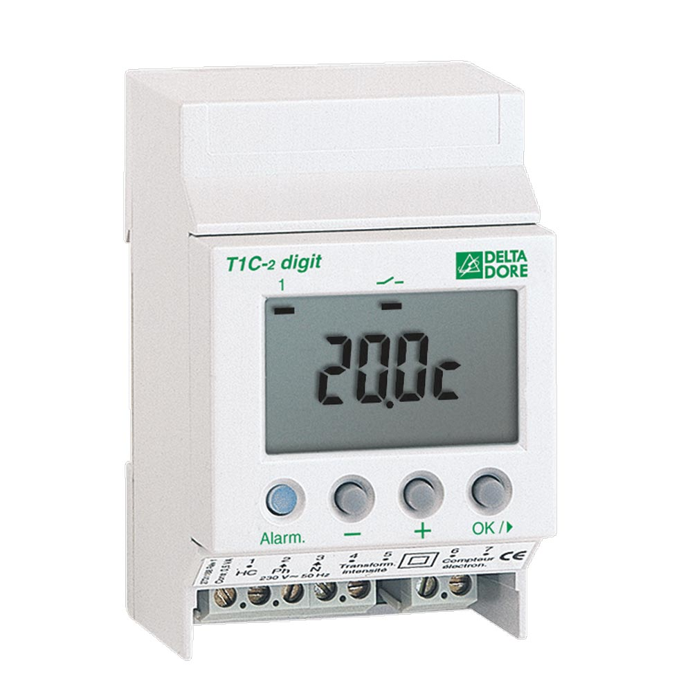 Delta dor - DDO6150023 - DELTA DORE T1C-2 DIGIT - 6150023 - Thermostat modulaire multi-usages