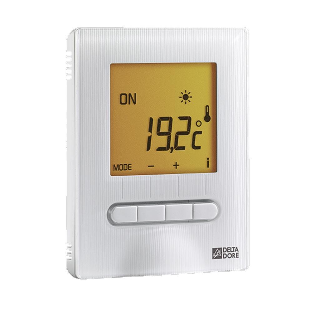 Delta dor - DDO6151055 - DELTA DORE MINOR 12 - 6151055 - Thermostat digital pour plancher ou plafond rayonnant