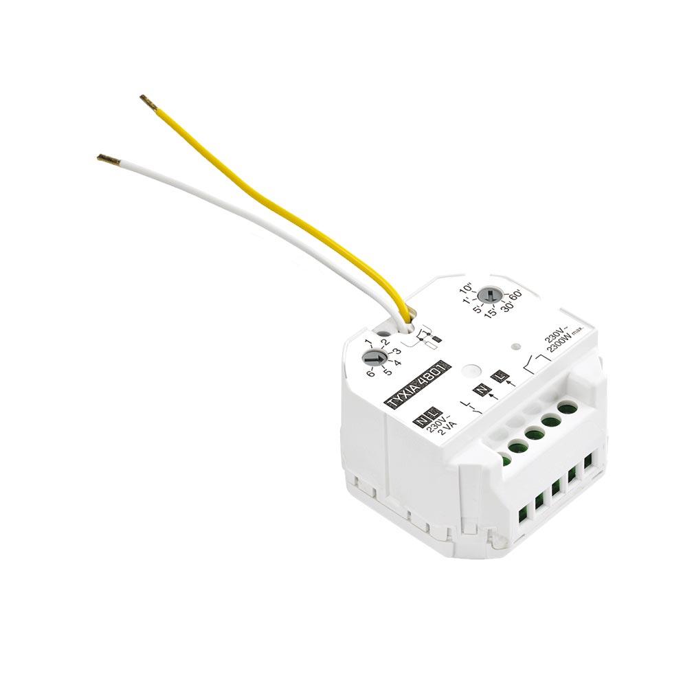 Delta dor - DDO6351110 - DELTA DORE TYXIA 4801 - 6351110 - Micromodule récepteur sortie contact sec 10 A marche/arrêt + minuterie X3D