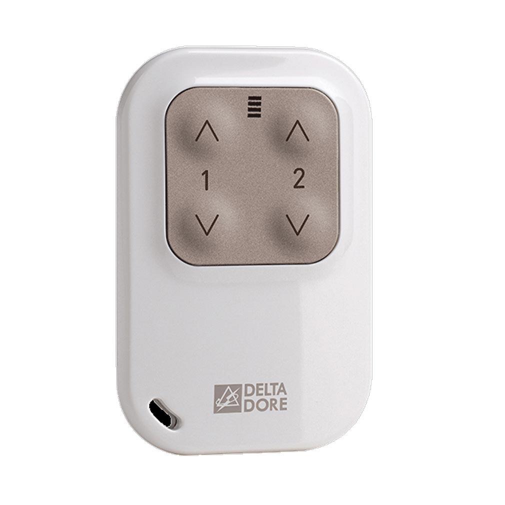 Delta dor - DDO6351388 - DELTA DORE TYXIA 1400 - 6351388 - Télécommande porte-clé pour éclairages et automatismes