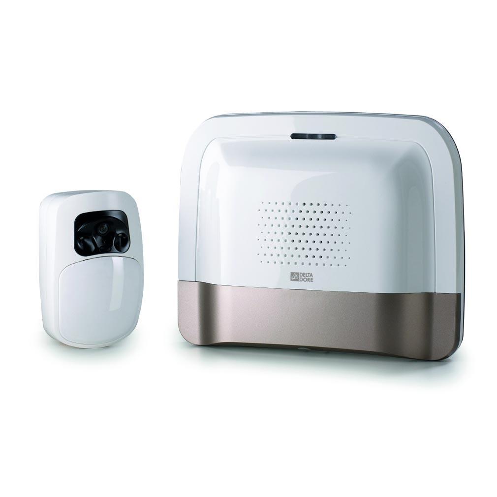 Delta dor - DDO6410173 - DELTA DORE PACK TYDOM VIDEO - 6410173 - Pack box domotique et détecteur vidéo