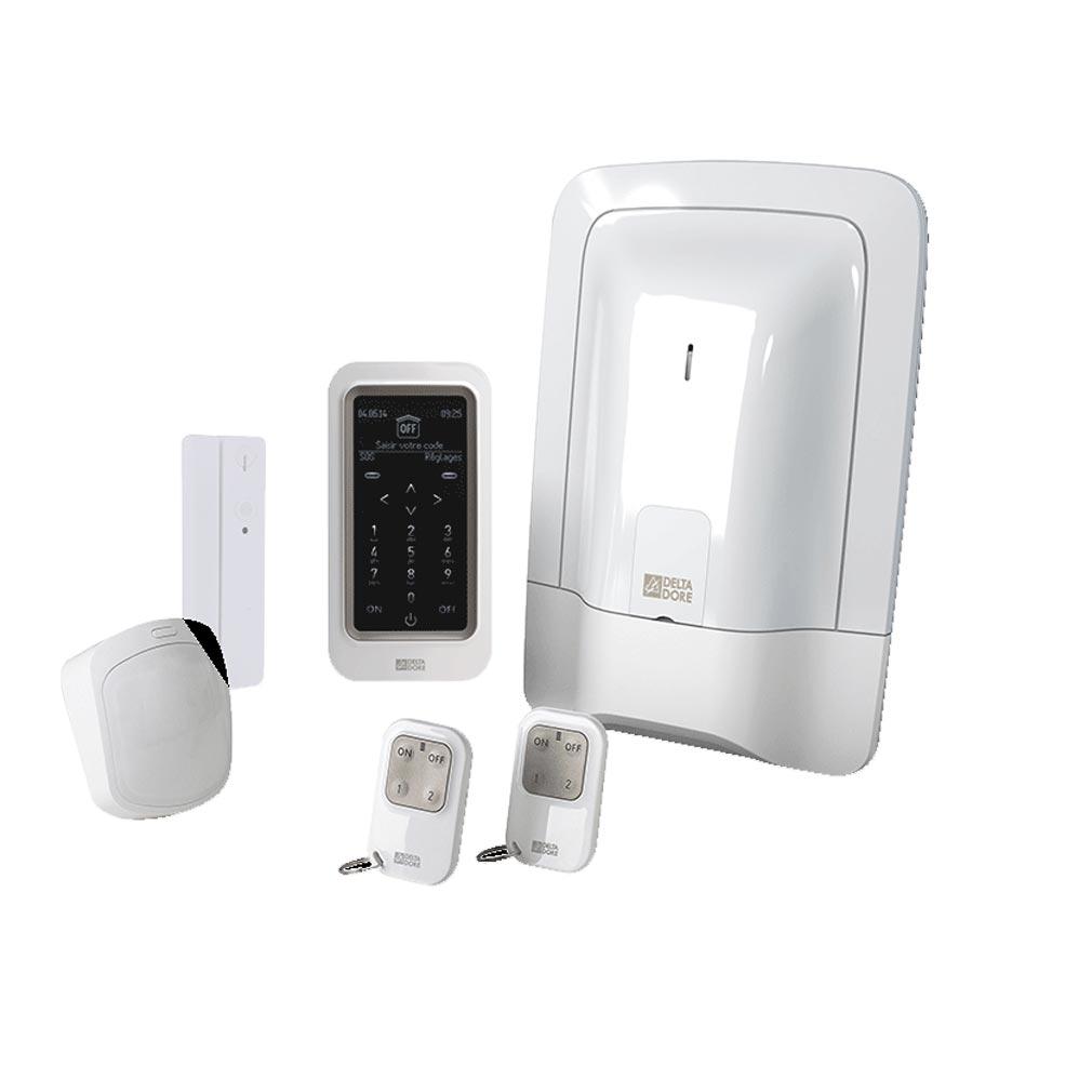 Delta dor - DDO6410186 - PDELTA DORE PACKTYXAL+ACCESS - Pack alarme 2 zones sans fil préconfiguré