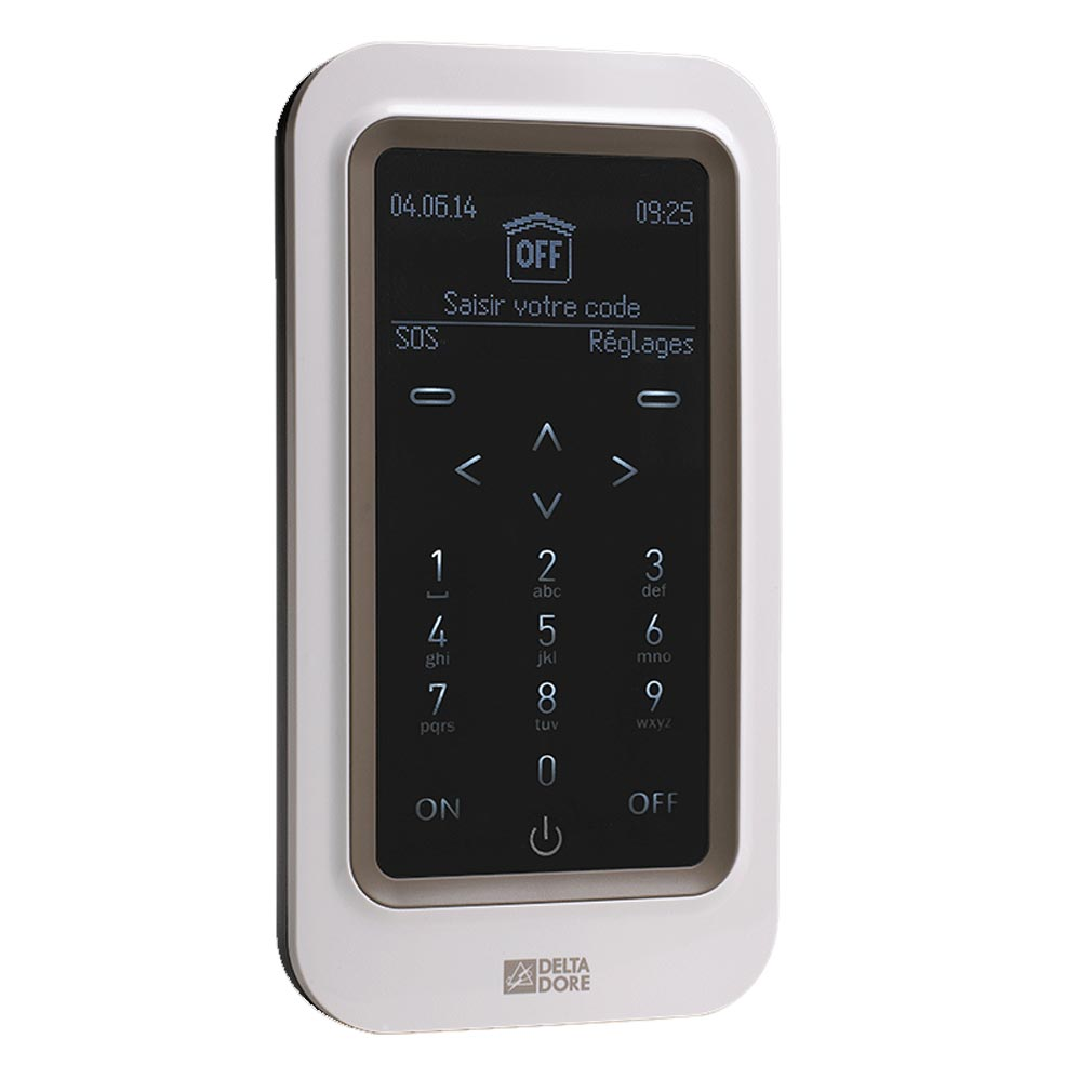 Delta dor - DDO6413252 - DELTA DORE CLT 8000 TYXAL+ | 6413252 - Clavier tactile avec écran sans fil