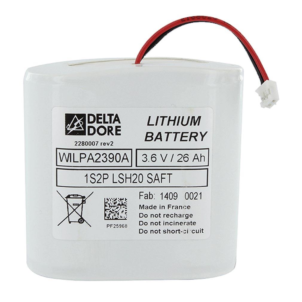 Delta dor - DDO6416222 - DELTA DORE BAT CS 8000-SI TYXAL+ | 6416222 - Alimentation pour centrale sirène