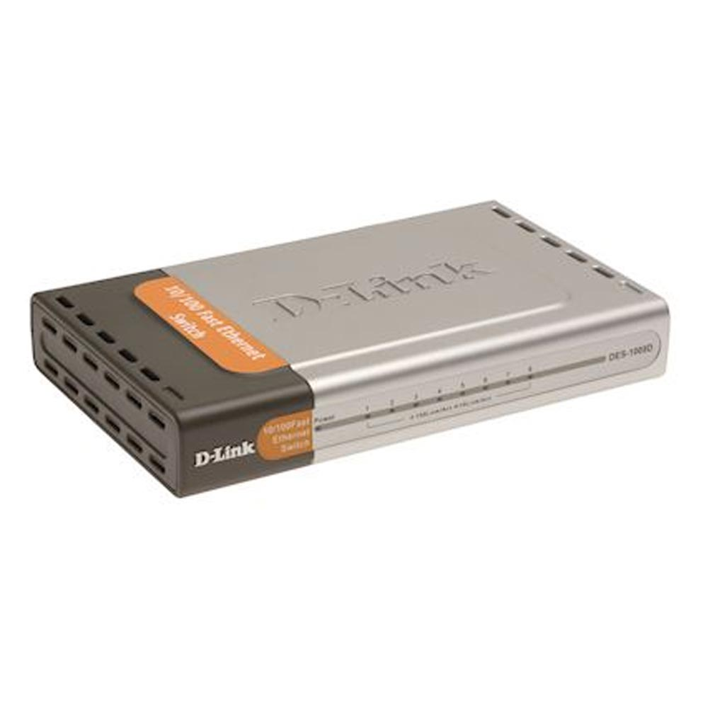 Dlink - DLKDES1008D - DLINK DES1008D - SWITCH 8 10/100TX DESKTOP