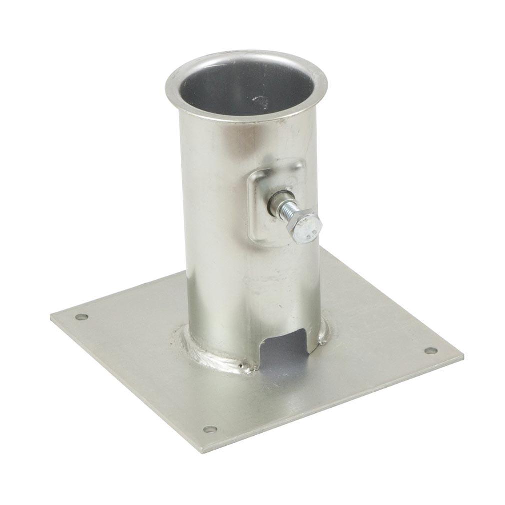 Erard - EAD800842 - Plaque de base acier / MAT MAXI D.50 - ZINC BLANC