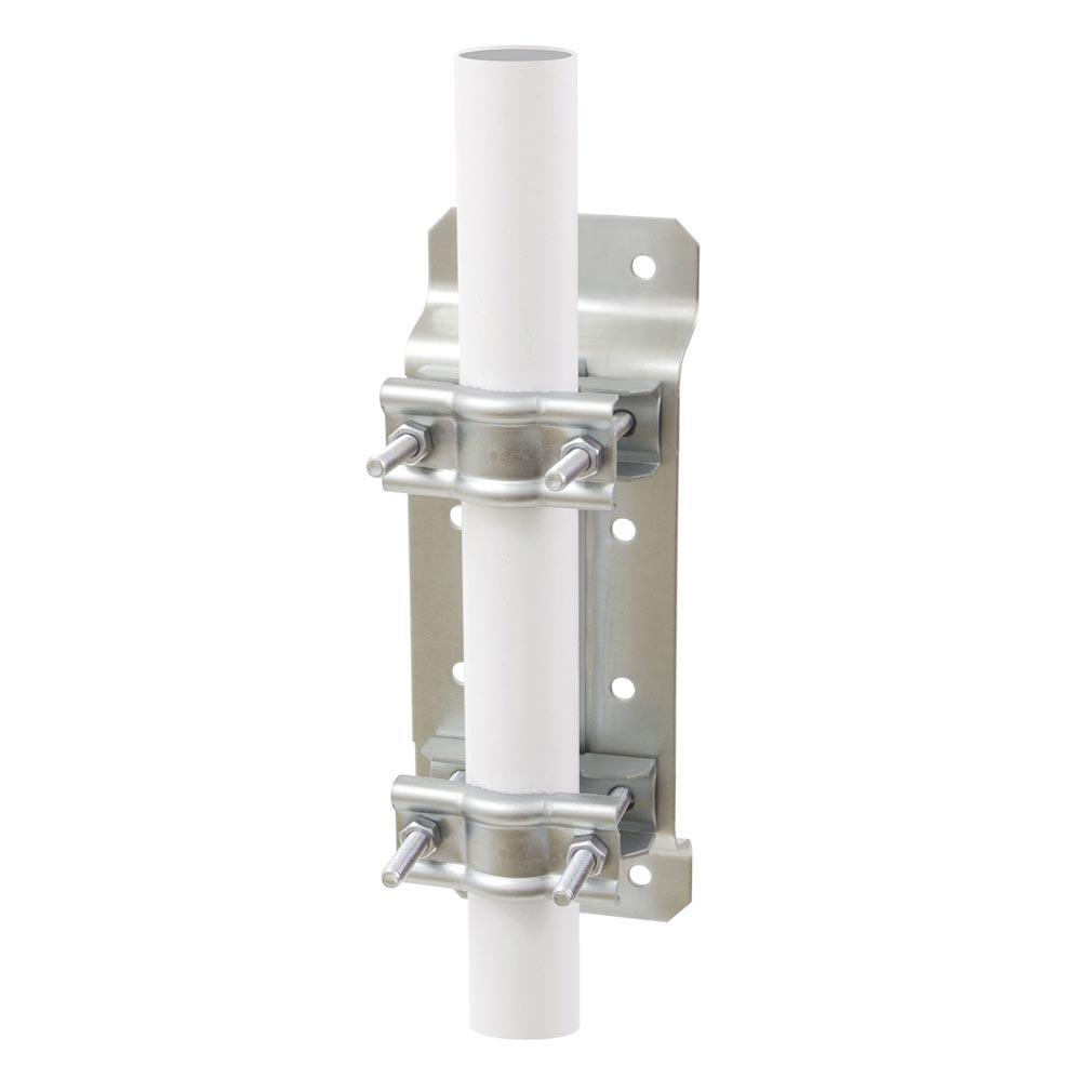 Erard - EAD800880 - Fixation polyvalente / TUBE D.25 A 50 - ZINC BLANC