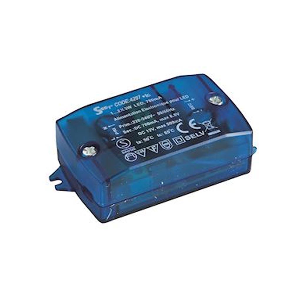 Europole - POL4207 - EUROPOLE 4207 - Convertisseur électronique 0.5-6W IP20 700mA-12VDC