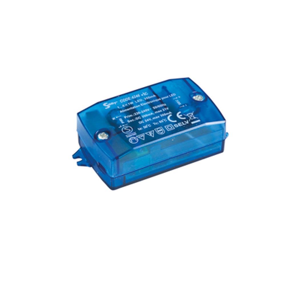Europole - POL4246 - EUROPOLE 4246 - ALIM 0.5-6W IP20 350MA-24VDC - Convertisseur électronique 0.5-6W IP20 350mA-24VDC