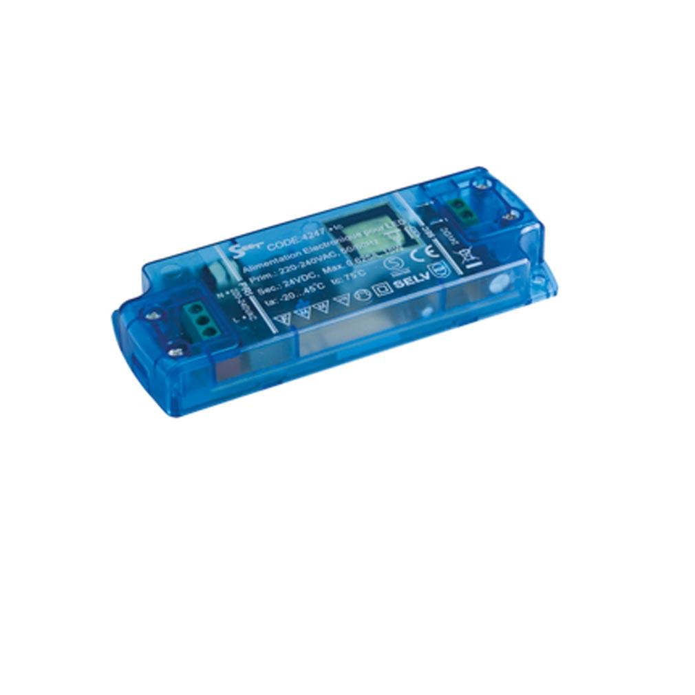 Europole - POL4247 - EUROPOLE 4247 - ALIM 1-15W IP20 24VDC - Convertisseur électronique 1-15W IP20 24VDC