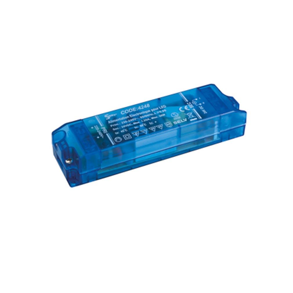 Europole - POL4248 - EUROPOLE 4248 - ALIM 3-30W IP20 24VDC - Convertisseur électronique 3-30W IP20 24VDC