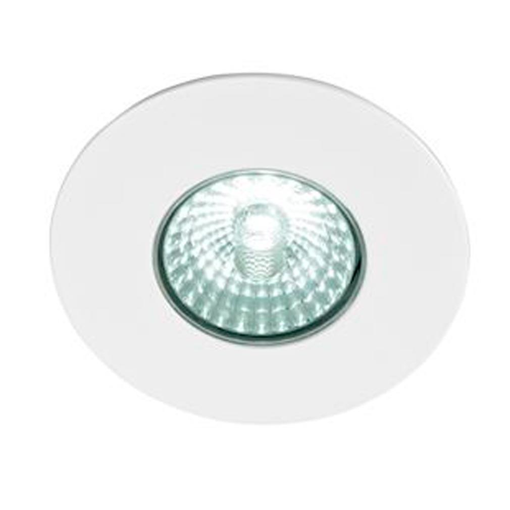 Europole - POL573030 - EUROPOLE 573030 - LED'UP DESIGN blanc mat 6W 470lm 3000K 38DEG fixe IP65