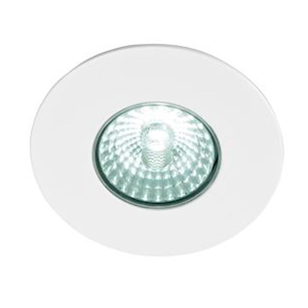 Europole - POL573031 - EUROPOLE 573031 -  LED'UP DESIGN blanc mat 6W 490lm 4000K 38DEG fixe IP65