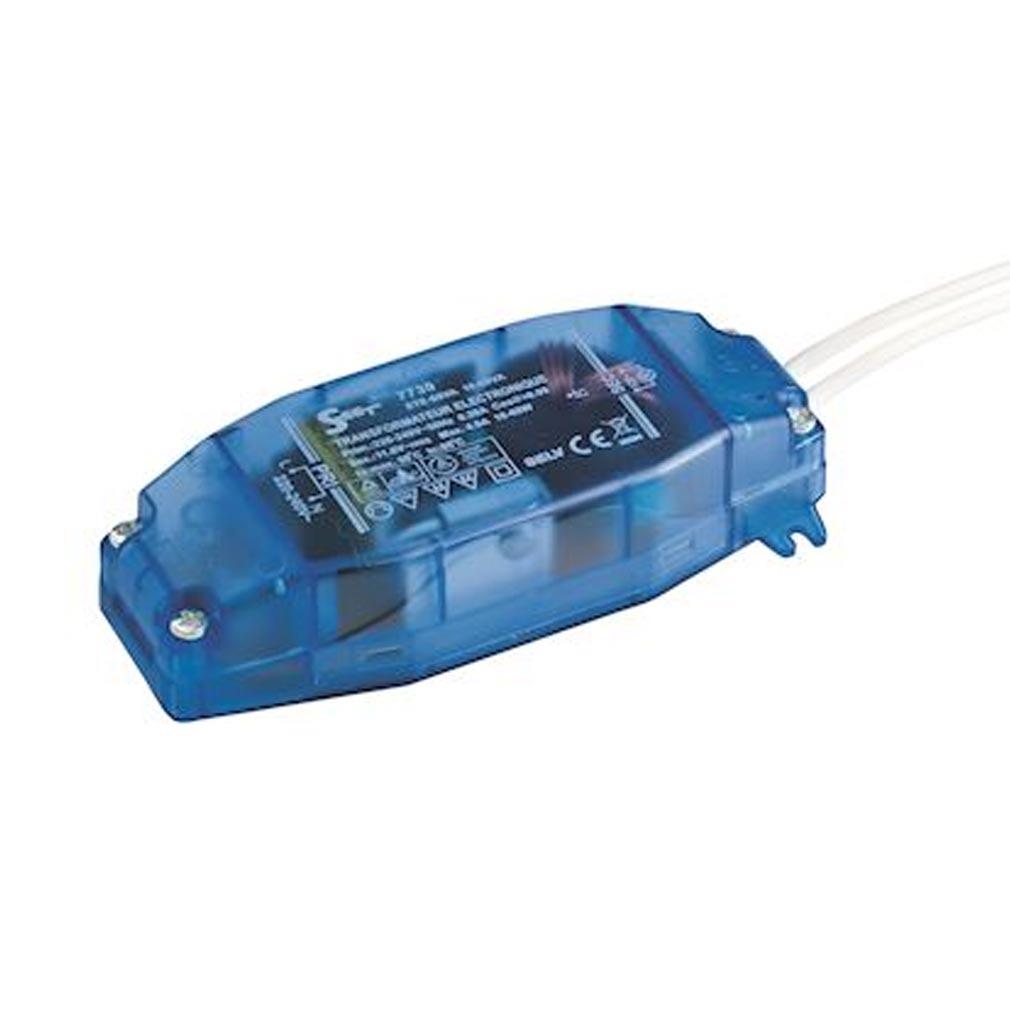 Europole - POL7730 - EUROPOLE 7730 - Transformateur électronique 4-60VA led/halo IP20 12V