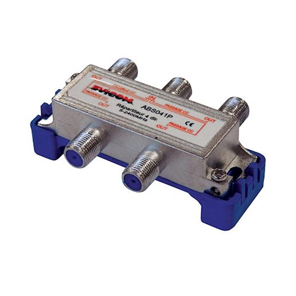 Evicom - EVCABS041P - EVICOM   ABS041P -  Répartiteur 5 - 2.300 MHz 4 sorties