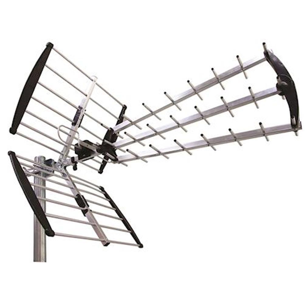 Evicom - EVCB536705G - EVICOM B536705G -  Antenne UHF triple nappes 25 directeurs LTE-5G