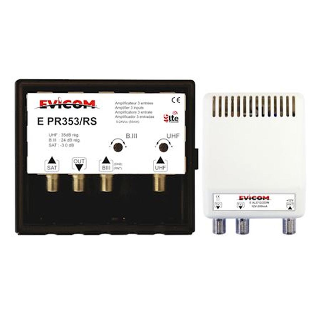 vente matériel électrique Evicom  batiment