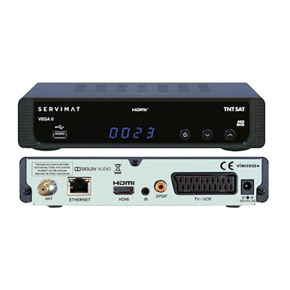 Evicom - EVCNVEGA2HD - EVICOM  NVEGA2HD  -  Terminal Satellite HD TNTSAT