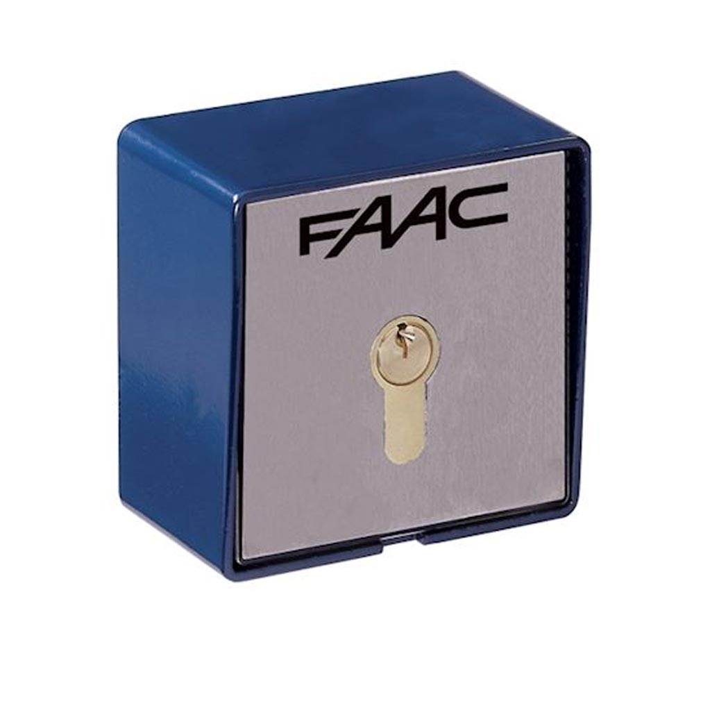 Faac - FAA401013 - FAAC 401013 - contacteur a cle t21 en saillie - 2 contacts
