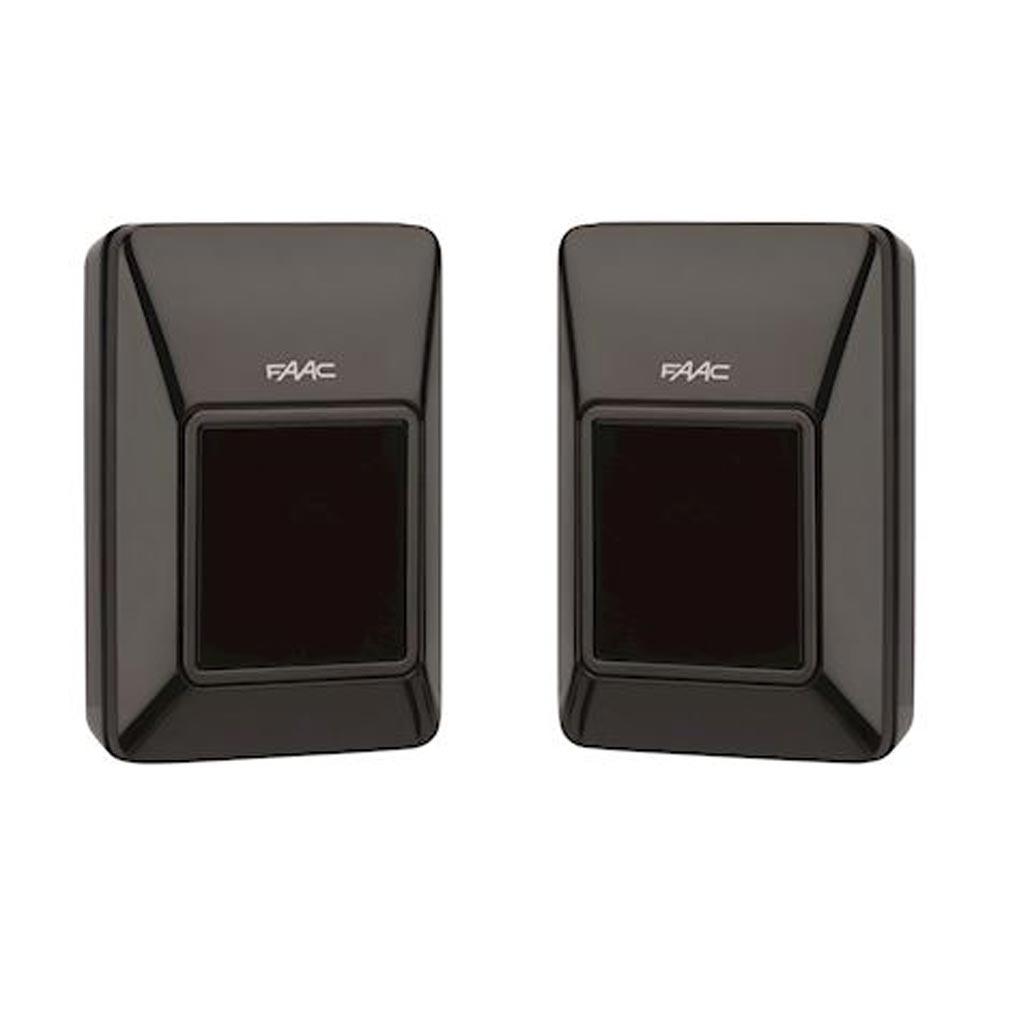 Faac - FAA785105 - FAAC 785105 -  photocellules xp30 relais portee 30m noires