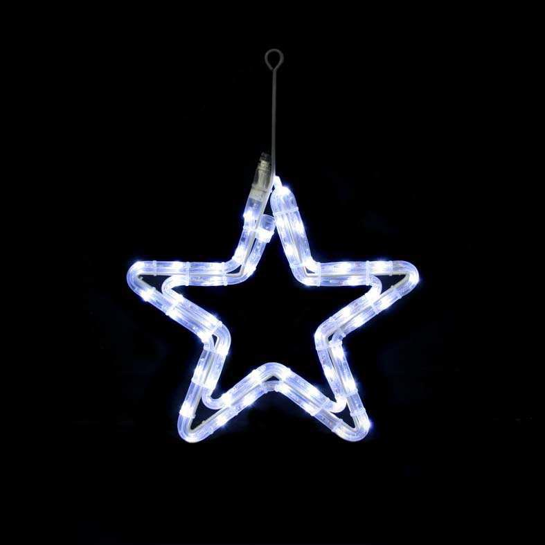 Festiligh - FEH40120RP0LED - Festilight 40120-RP0LED - LITTLE STAR - Mini Etoile Racc LED Blanc Animable 230V