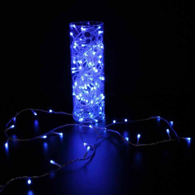 Festiligh - FEH61315T3 -  CLASSIC - Guirlande 20m LED Bleu- animateur 8F