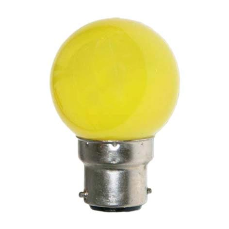 Festiligh - FEH656821PC -  Lampe B22 LED SMD Jaune ø 45-47mm 230V