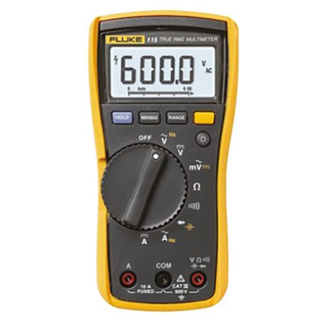 Fluke - FLEFLUKE115EUR - LUKE115EUR - 2583583 - MULTIMETRE NUMERIQUE 6000 POINTS TRMS