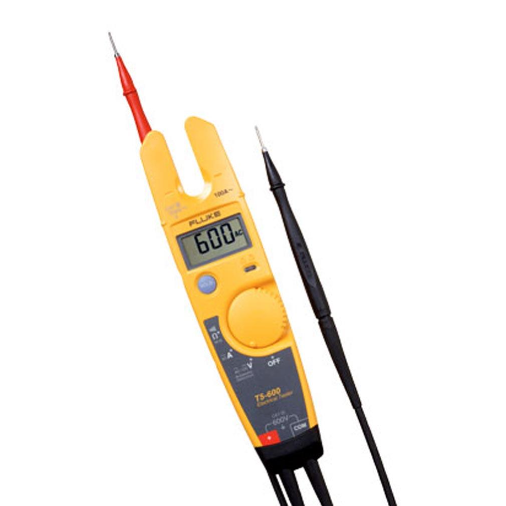 Fluke - FLET5600EUR1 - FLUKE T5 6000 - TESTEUR/PINCE 600V/100A (MACHOIRE OUVERTE)
