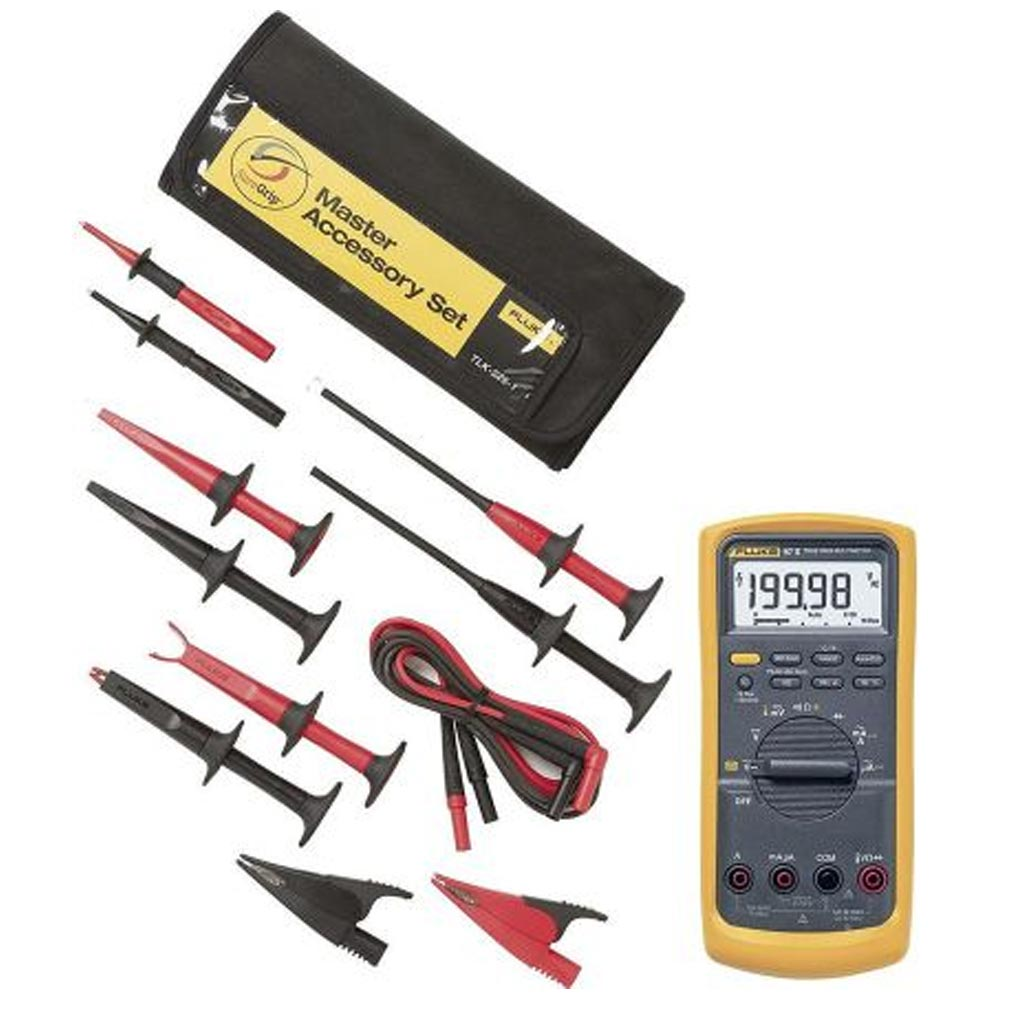 Fluke - FLETLK2251 - FLUKE 2251 - Kit multimètre Industriel AC220+AC280+AC283+AC285+TP220+TL224+SACOCHE