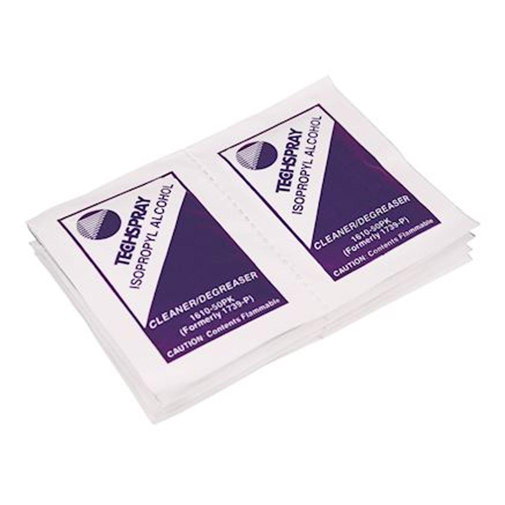 Gigamedia - GGM161050PK - GIGAMEDIA 161050PK -  Lingettes pré-imprégnées d'alcool isopropylique (lot de 50 pièces)