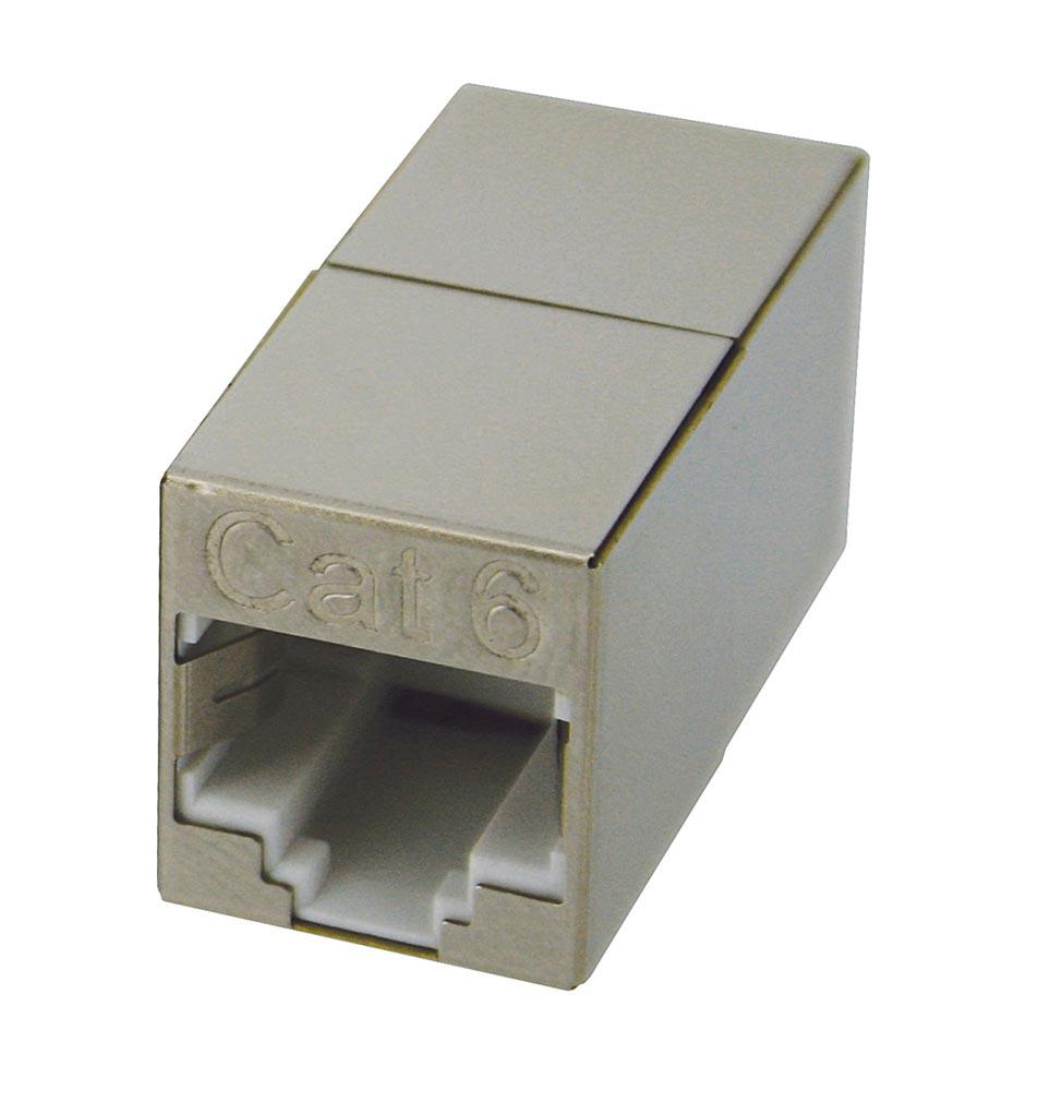 Gigamedia - GGMMINIC6B - GIGAMEDIA MINIC6B - MINI PROLONGATEUR C6 RJ45 F/F STP