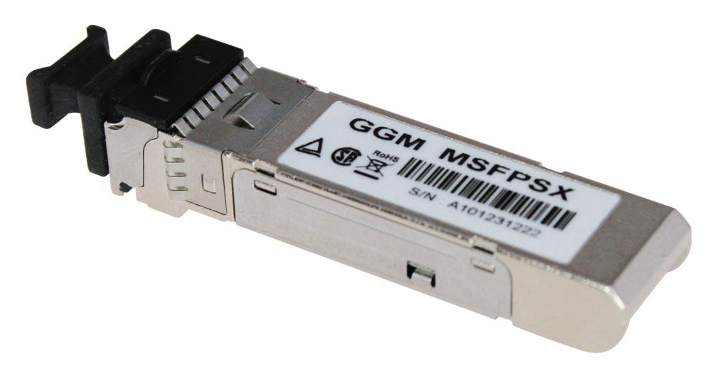 Gigamedia - GGMMSFPSX - GIGAMEDIA MSFPSX - Module  SFP 1000SX LC MULT 500M HP GGM