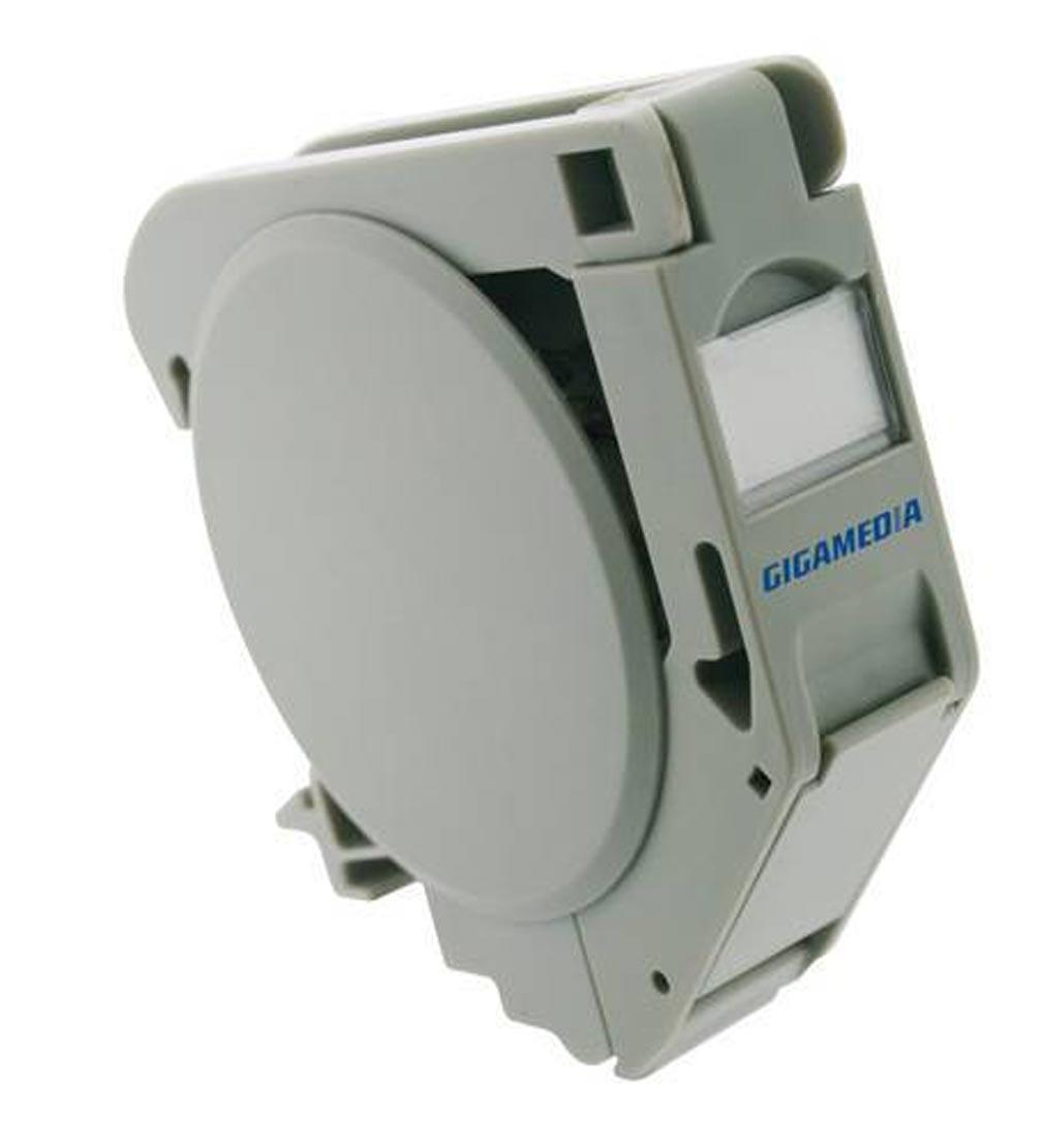 Gigamedia - GGMRJDINCAT6A - GIGAMEDIA RJDINCAT6A - MODULE DIN NOYAU RJ45 CAT6A 10G STP