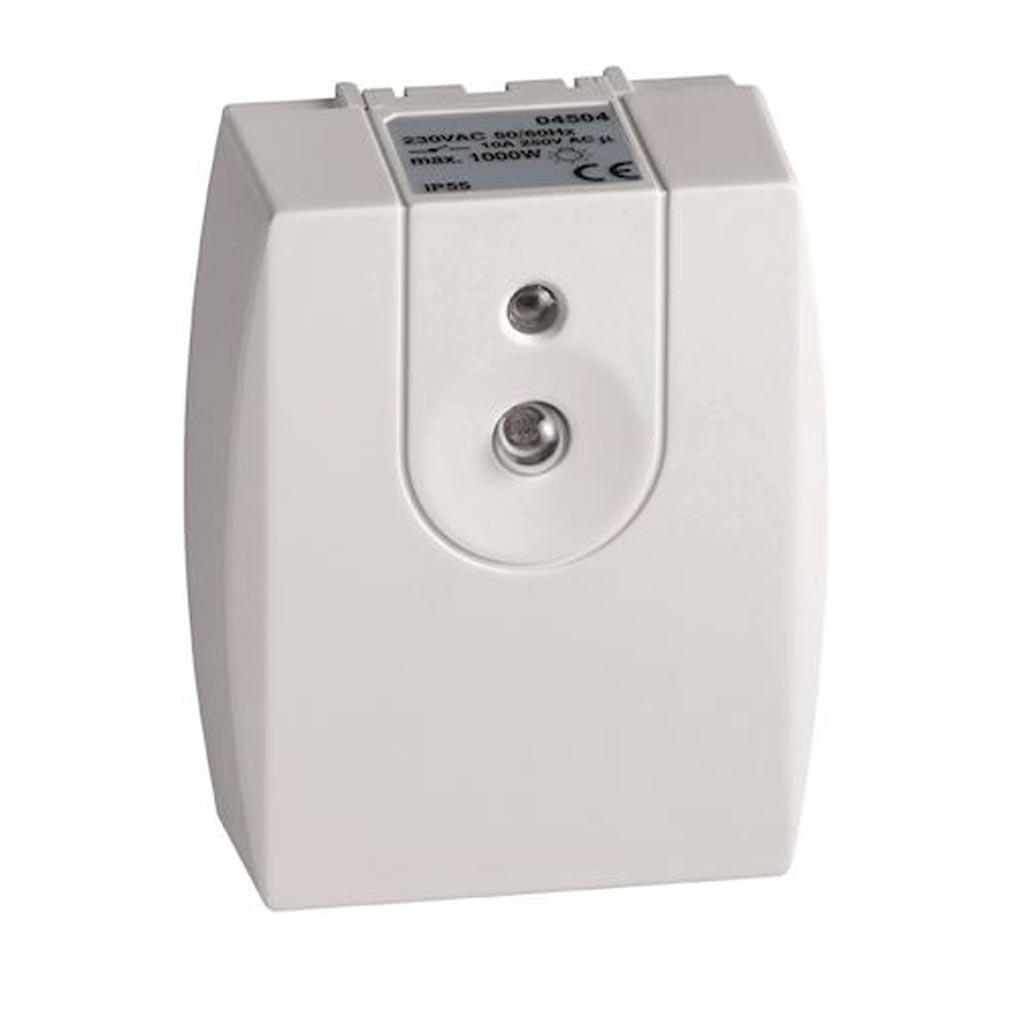 Hager - HAG04504 - HAGER 04504 -  Interrupteur crépusculaire compact basique 8A