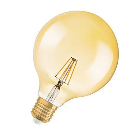 Ledvance - OSR962071 - BTE1 LED RETROFILGLOB1906 4W=35GOLDE27OS