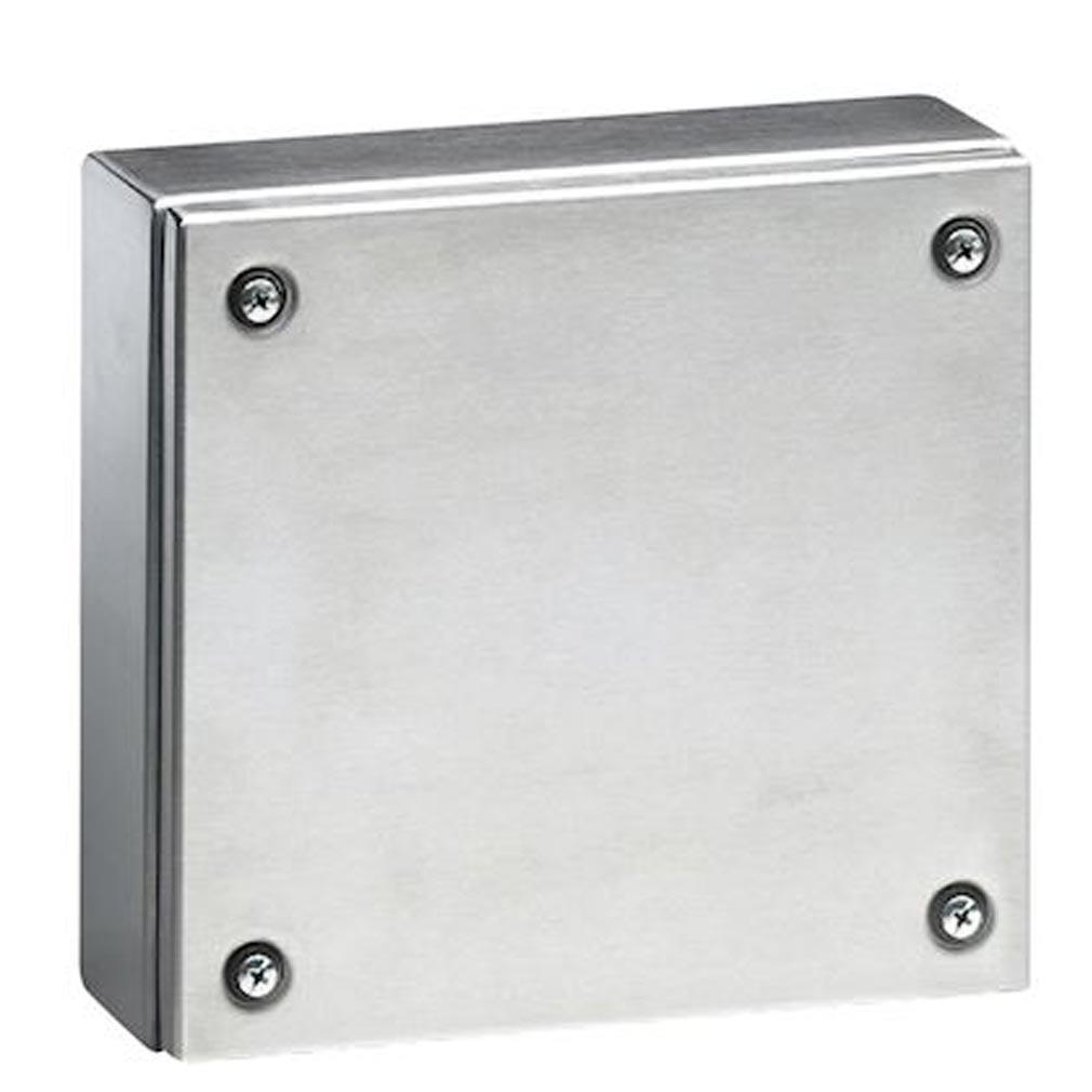 Legrand - LEG035650 - LEGRAND 035650 - Boîtier industriel Atlantic inox carré IP66 IK10 - 150x150x80mm