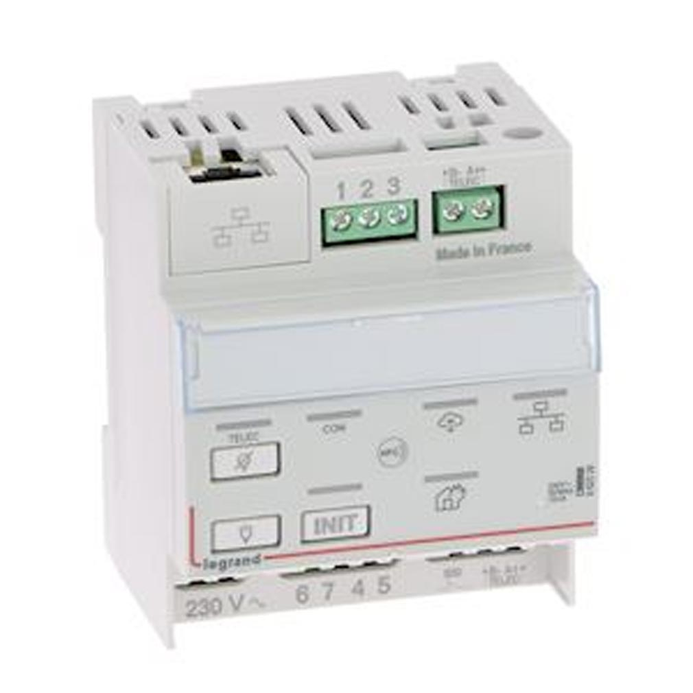 Legrand - LEG062520 - LEGRAND 062520 - Télécommande modulaire multifonctions connectée non polarisée IP pour bloc d'éclairage et alarme incendie