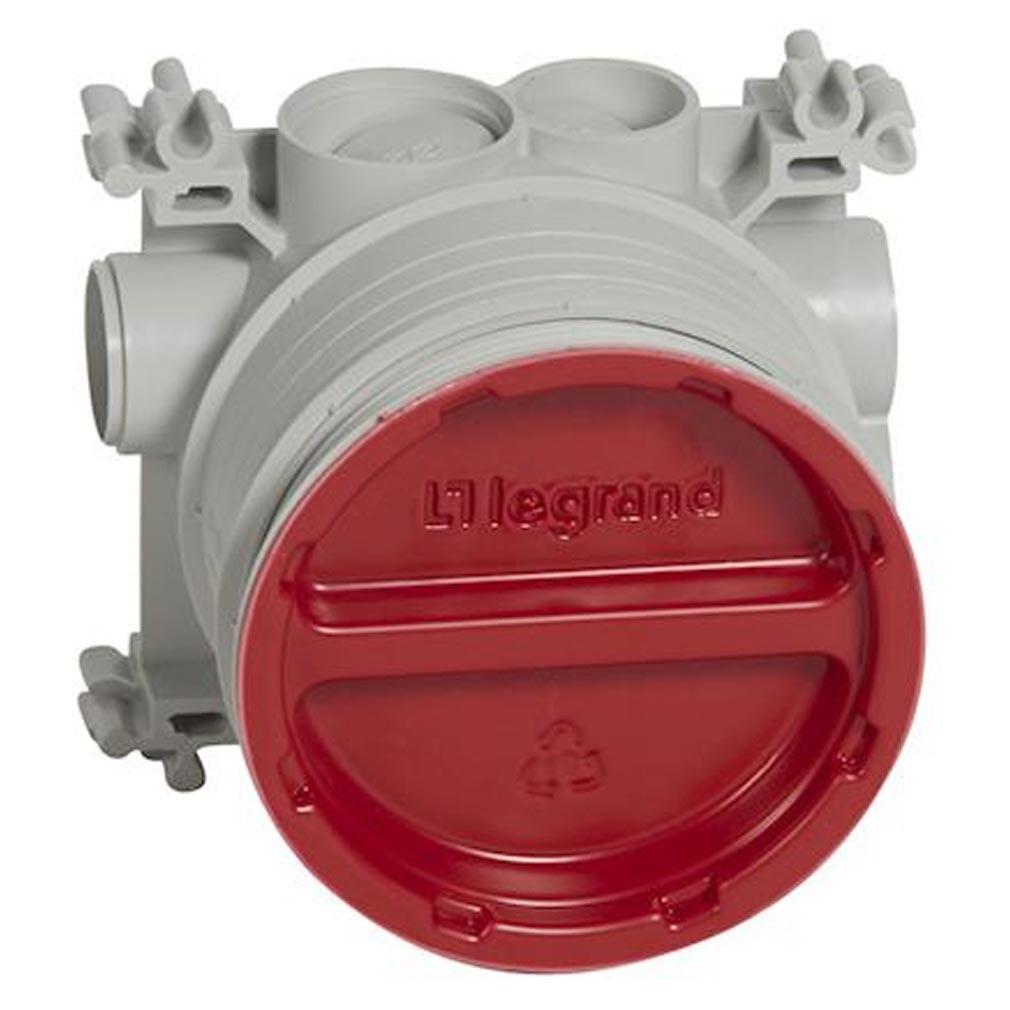Legrand - LEG081988 - LEGRAND 081988 - Boîte d'encastrement simple prise de sol pour béton hauteurs chape 50mm à 80mm
