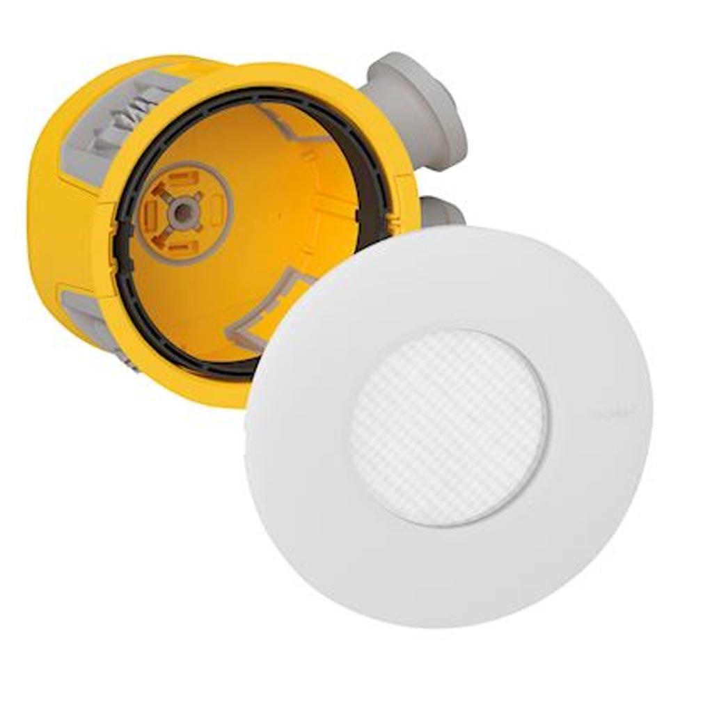 Legrand - LEG088534 - LEGRAND 088534 -  Distributeur de 10 spots à LED dimmable IP44 Modul'up complet + 1 scie cloche