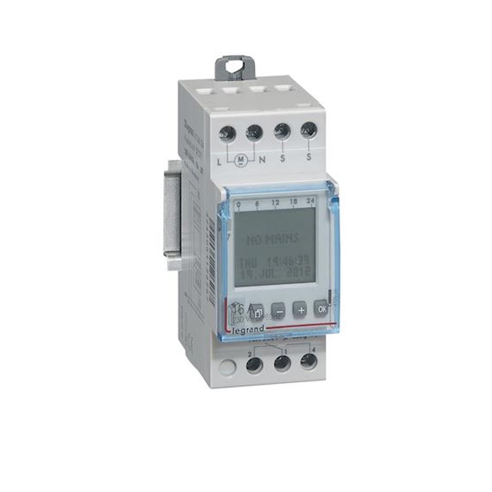 Legrand - LEG412626 - LEGRAND 412626 -  Inter crépusculaire programmable - sortie 16A 250V - 2 modules