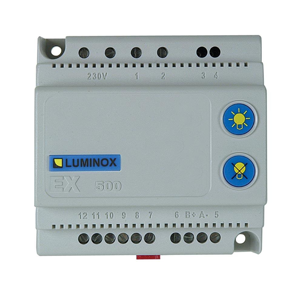 Luminox - LUM10303 - Boîtier de télécommande pour 500 blocs série STD - EX 500