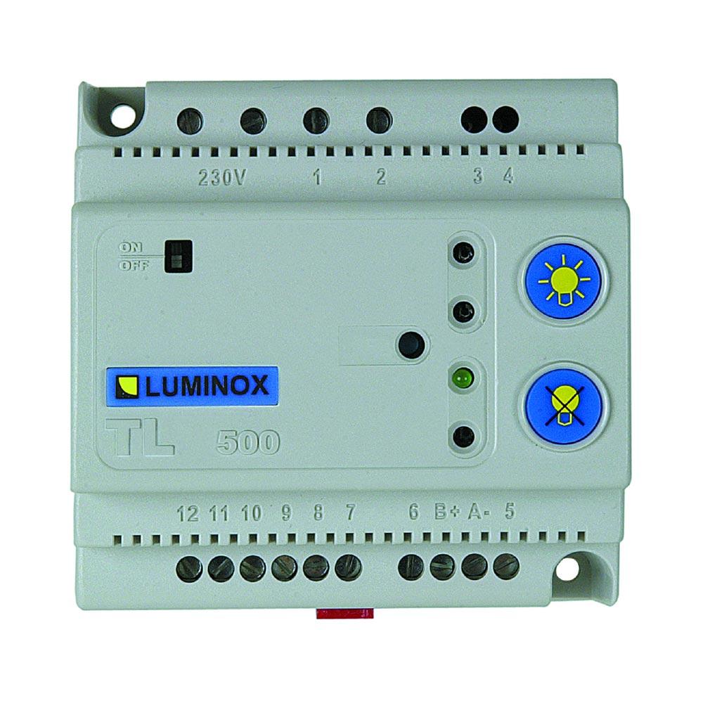 Luminox - LUM10313 - Boîtier de télécommande électronique pour 500 blocs maxi.  - TL 500