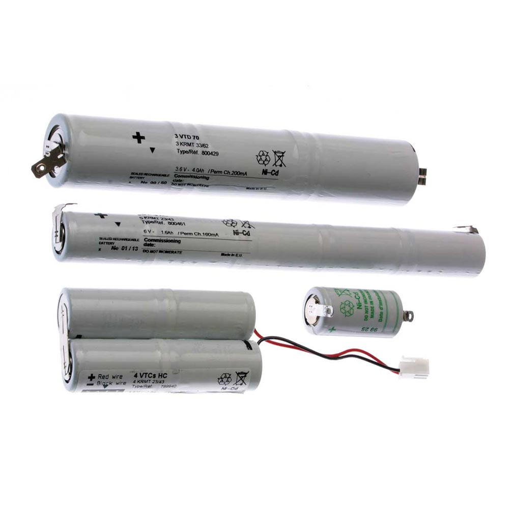 Luminox - LUM11078 - LUMINOX 11078 -  Packs accumulateurs 3x1.2V-0.8Ah pour les blocs ULTRALED boitier EPSILON